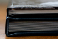 Book and Album thickness comparison